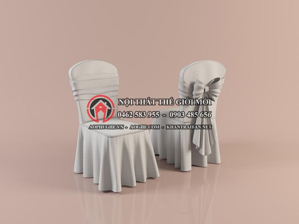 Áo phủ ghế nhà hàng